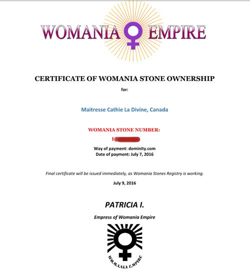 WomeniaEmpire certificate-r